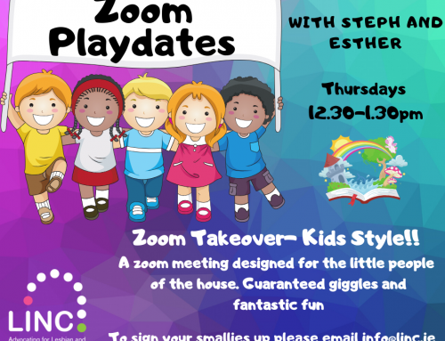 Playdates for the under 10s – via Zoom with LINC